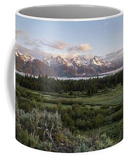 Sunrise At Grand Teton Coffee Mug