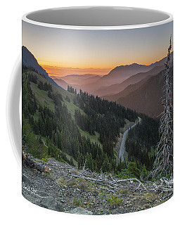 Sunrise At Hurricane Ridge - Sunrise Peak Coffee Mug