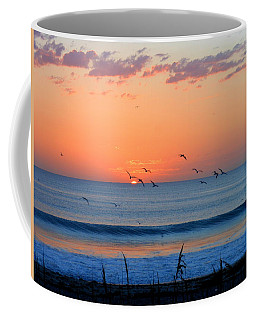 Sunrise At Indialantic Coffee Mug by Kay Gilley