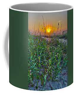 Coffee Mug featuring the photograph Sunrise At Myrtle Beach by Alex Grichenko