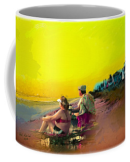 Sunrise At Ponte Vedras Coffee Mug