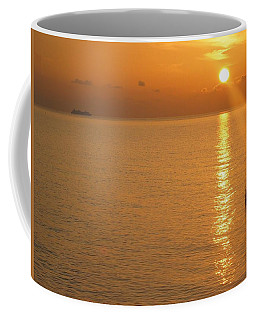 Coffee Mug featuring the photograph Sunrise At Sea by Photographic Arts And Design Studio