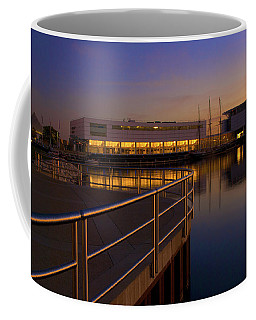 Sunrise At The Lakefront Coffee Mug by Jonah  Anderson