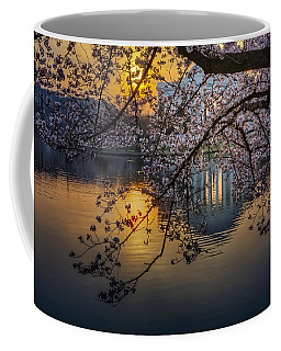 Sunrise At The Thomas Jefferson Memorial Coffee Mug