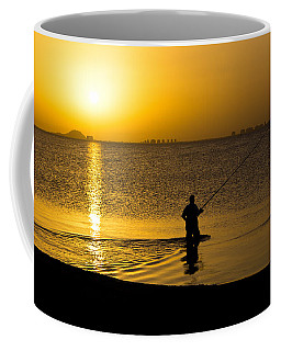 Sunrise Fishing Coffee Mug