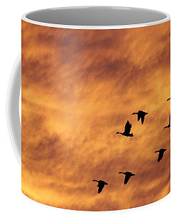 Sunrise Flight 2 Coffee Mug