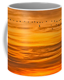 Sunrise Flight Coffee Mug