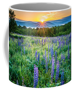 Sunrise From Sampler Fields - Sugar Hill New Hampshire Coffee Mug