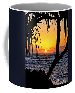 Sunrise Fuji Beach Kauai Coffee Mug