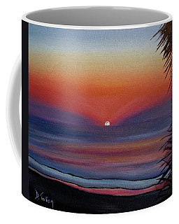 Coffee Mug featuring the painting Sunrise Glow by Donna Tuten
