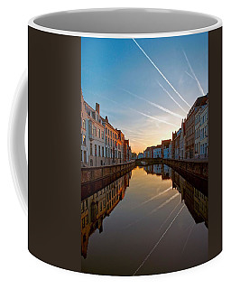 Sunrise In Bruges Coffee Mug