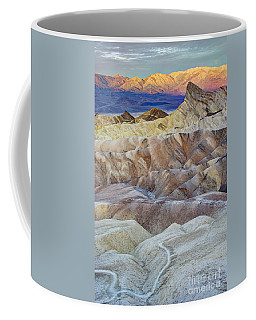 Sunrise In Death Valley Coffee Mug