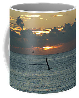 Coffee Mug featuring the photograph Sunrise In The Florida Riviera by Rafael Salazar