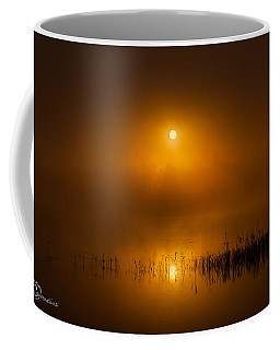 Sunrise In The Fog Coffee Mug