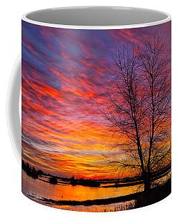 Sunrise In The Sacramento Valley Coffee Mug