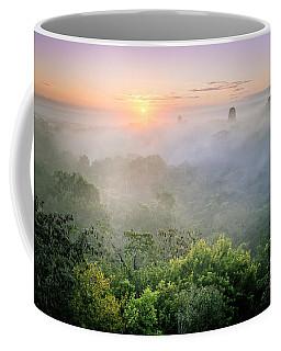 Sunrise In Tikal Coffee Mug