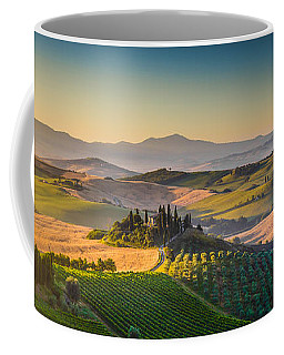 A Golden Morning In Tuscany Coffee Mug