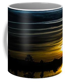 Coffee Mug featuring the photograph Sunrise In Virginia by Angela DeFrias