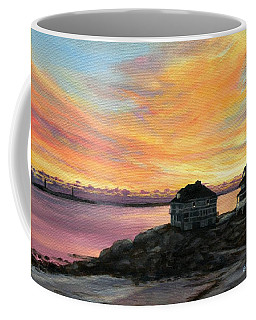 Sunrise Long Beach Rockport Ma Coffee Mug