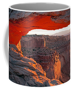 Sunrise Mesa Arch Canyonlands National Park Coffee Mug