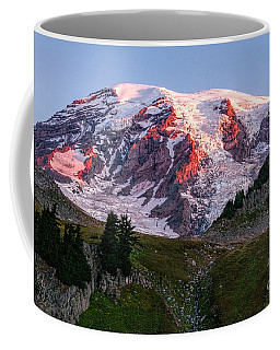 Sunrise Mt Rainier Coffee Mug