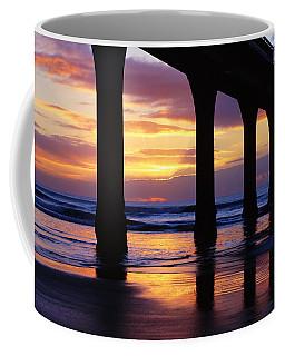 Sunrise New Brighton Pier Nz Coffee Mug