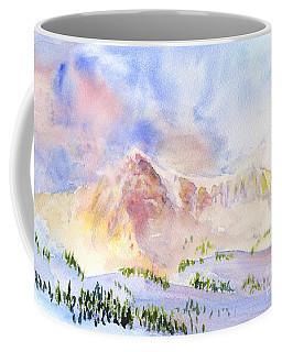 Sunrise On Mount Ogden Coffee Mug