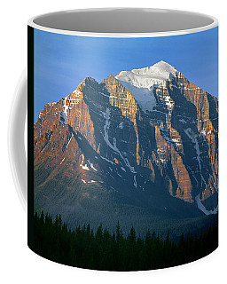1m3518-sunrise On Mt. Temple Coffee Mug