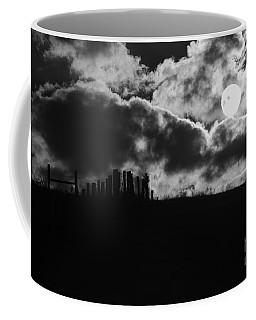 Sunrise On The Farm Bw Coffee Mug