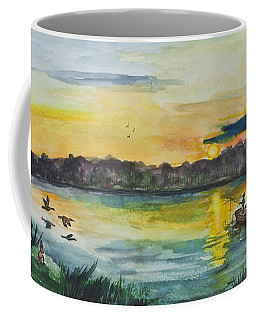 Sunrise On The Lake Coffee Mug