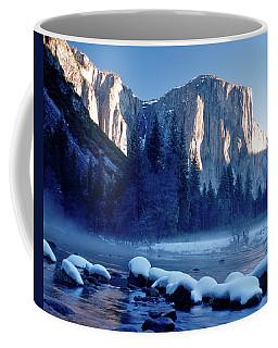 Sunrise On El Capitan Yosemite National Park Coffee Mug