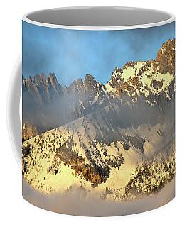 Sunrise On Thompson Peak Coffee Mug