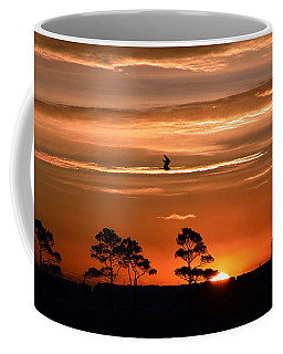 Coffee Mug featuring the photograph Sunrise Over Fenwick Island by Bill Swartwout