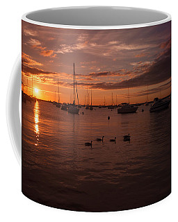 Sunrise Over Lake Michigan Coffee Mug