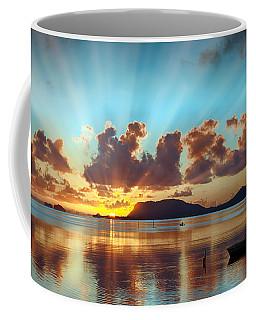 Sunrise Over Marine Corps Base Hawaii Coffee Mug