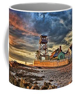 Sunrise Over The House Of Refuge On Hutchinson Island Coffee Mug