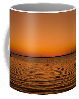 Coffee Mug featuring the photograph Sunrise Over The Lake Of Two Mountains - Qc by Juergen Weiss