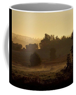 Sunrise Over The Mist Coffee Mug