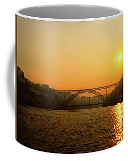Sunrise Over The River Coffee Mug