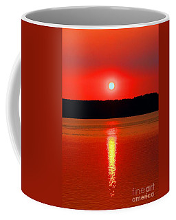 Sunrise Over Whidbey Island Coffee Mug
