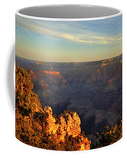 Sunrise Over Yaki Point At The Grand Canyon Coffee Mug