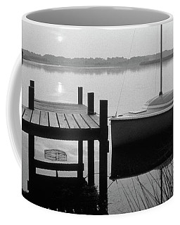 Sunrise Sail Boat Coffee Mug