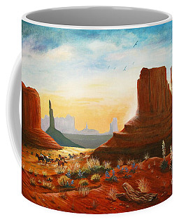 Sunrise Stampede Coffee Mug