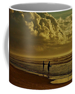 Sunrise Surf Fishing Coffee Mug