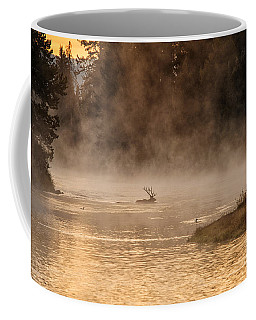 Sunrise Swim Coffee Mug