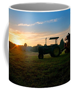 Sunrise Tractor Coffee Mug
