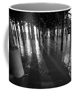 Sunrise Under Pier Coffee Mug