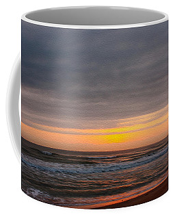 Sunrise Under The Clouds Coffee Mug by John M Bailey