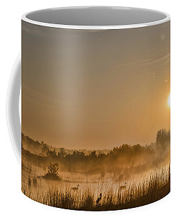 Sunrise With The Geese Coffee Mug