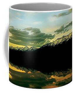 Sunset 1 Rainy Lake Coffee Mug